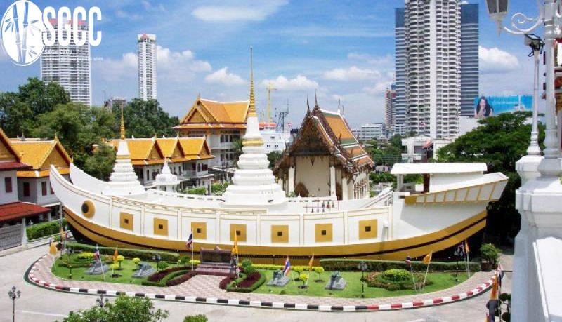 Chùa Thuyền - Wat Yan Nawa
