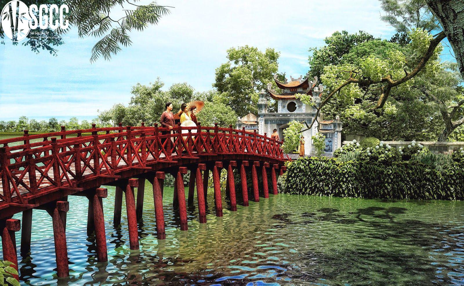 Hồ Hoàn Kiếm – Đền Ngọc Sơn