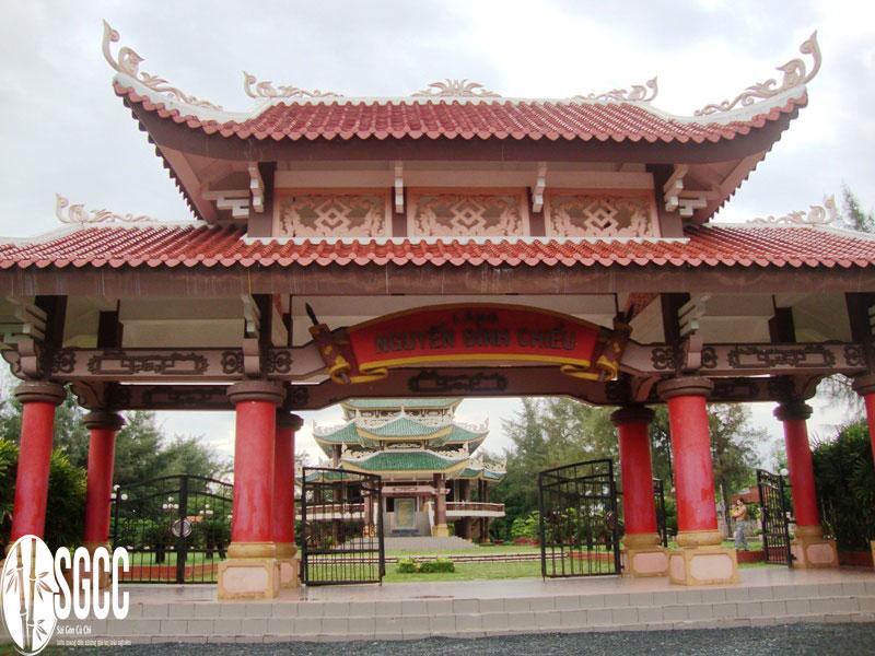 Khu di tích nhà thơ Nguyễn Đình Chiểu