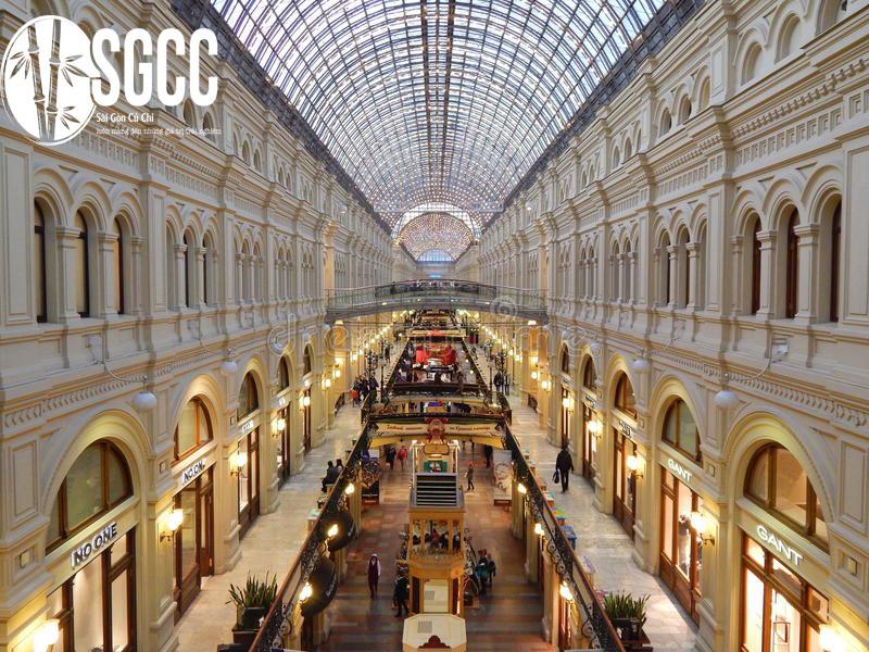 trung tâm thương mại GUM