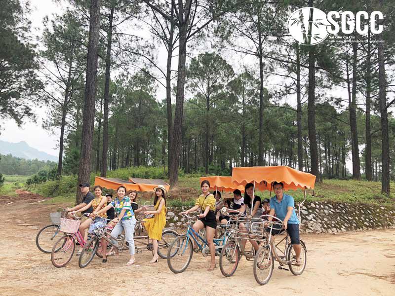Teambuilding Khu Du Lịch Rừng Thông Bản Áng Mộc Châu