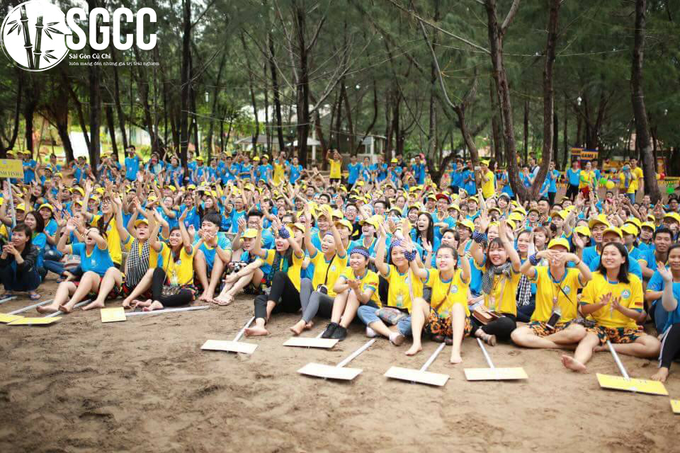 Teambuilding Khu Cắm Trại Zenna Pool Camp Vũng Tàu