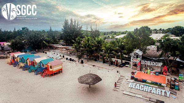 Teambuilding Biển Bình Thuận Coco Beach Camp Lagi