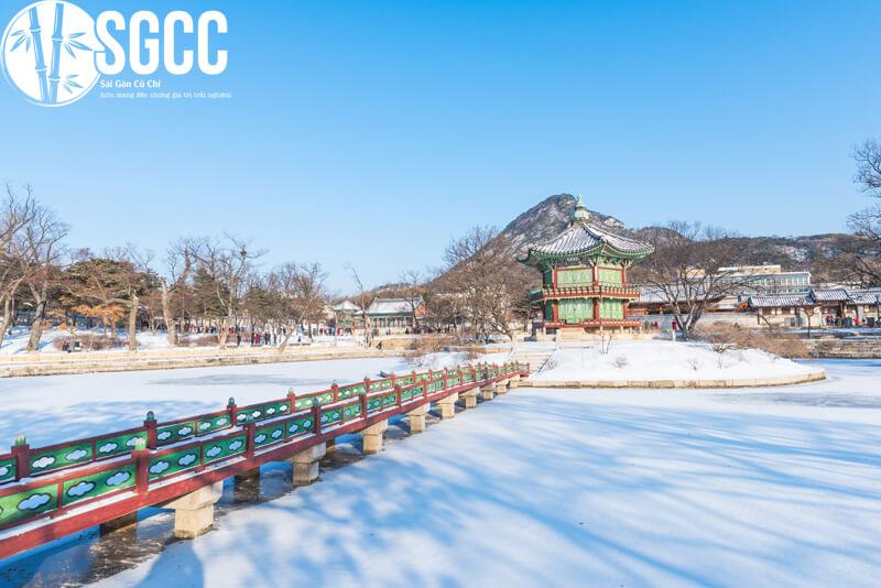 Ngắm tuyết tại Hàn Quốc Seoul – Nami – Lotte World- Trượt Tuyết