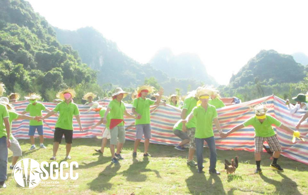 Teambuilding Khu Du Lịch Sinh Thái Thung Nham Ninh Bình