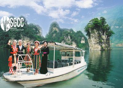 Teambuilding Hồ Na Hang Tuyên Quang