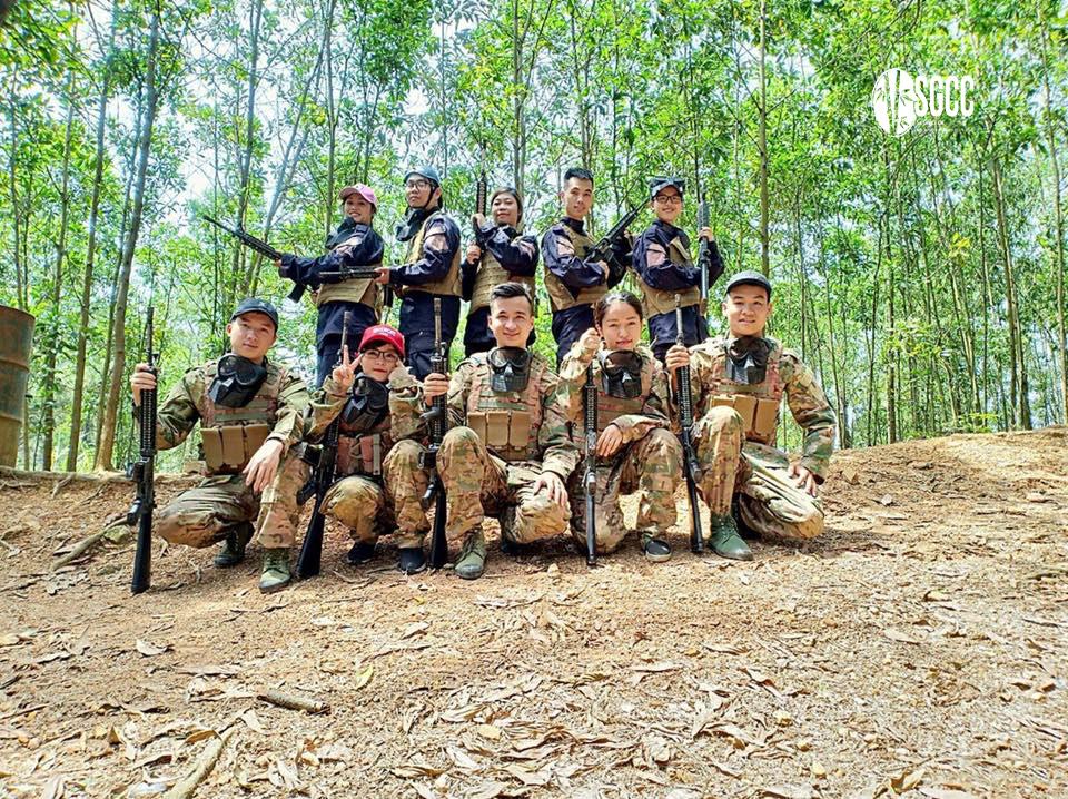 Teambuilding Khu Vườn Thông Xanh Hà Nội