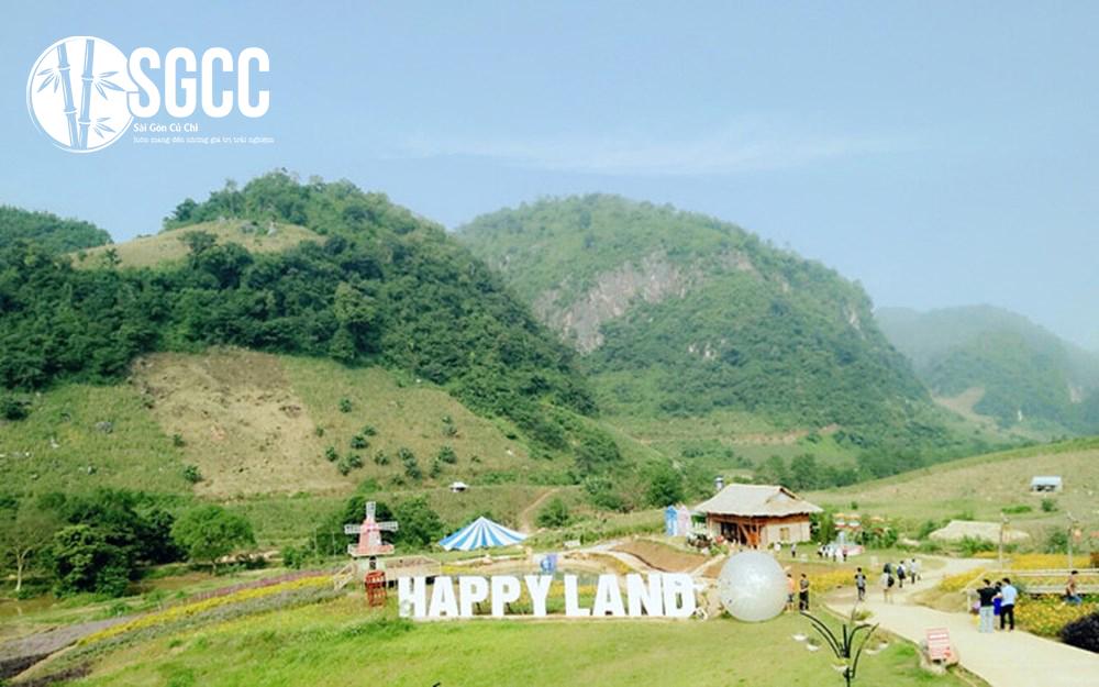 Teambuilding Khu Du Lịch Happy Land Mộc Châu
