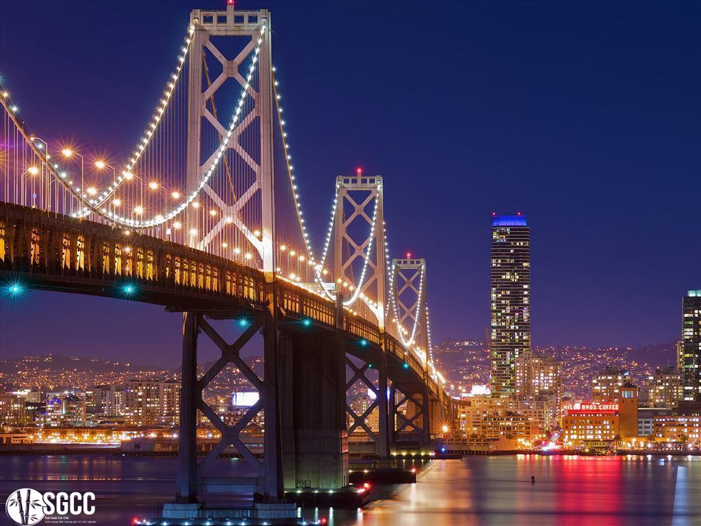Vẻ đẹp đắm chìm bên Cầu Cổng Vàng của nước Mĩ