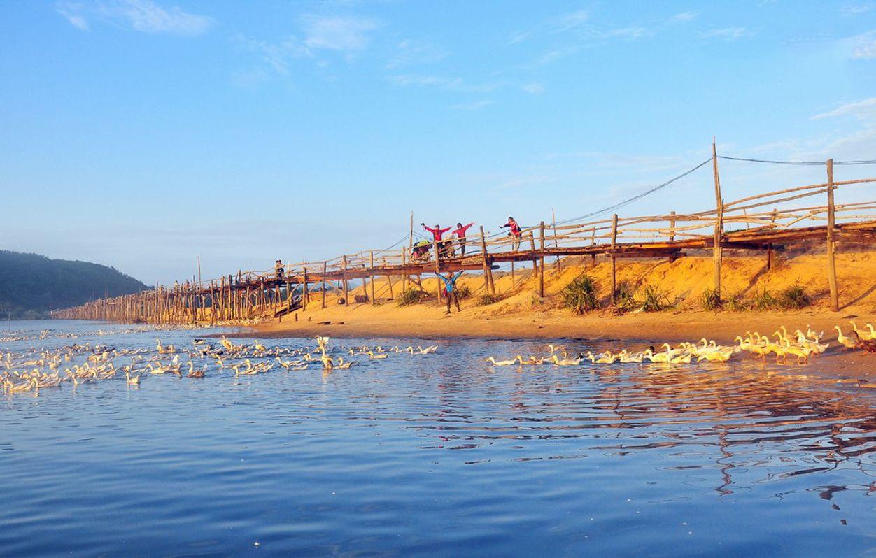 Check-in cầu gỗ dài nhất - Cầu Ông Cọp Phú Yên