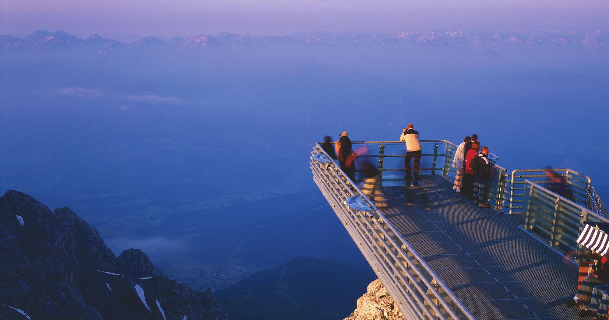 Cầu kính không dành cho người yếu tim tại Áo