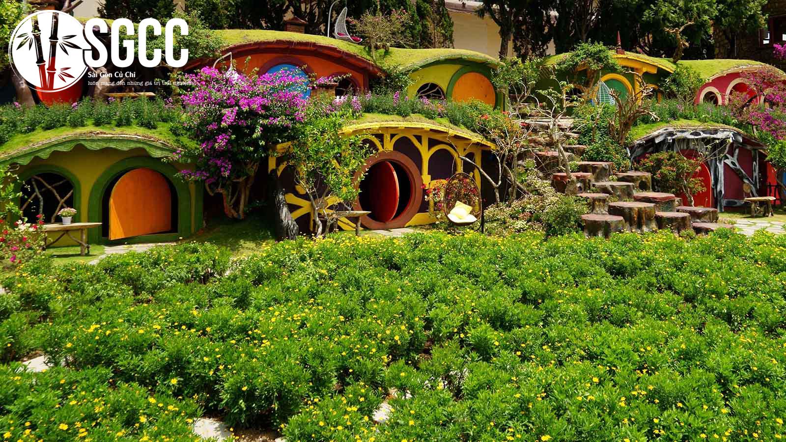Khám phá xứ sở cổ tích đẹp như mơ tại Dalat Fairytale Land