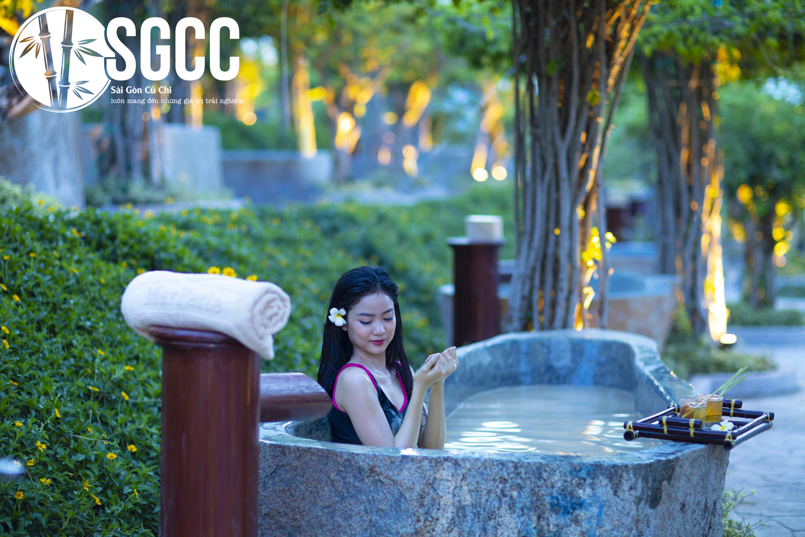 """Khu du lịch sinh thái suối khoáng nóng được mệnh danh là """"Tiểu Bali"""" tại Huế"""