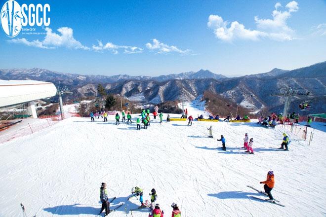Ngắm tuyết tại Hàn Quốc Seoul – Nami – Lotte World – Trượt Tuyết