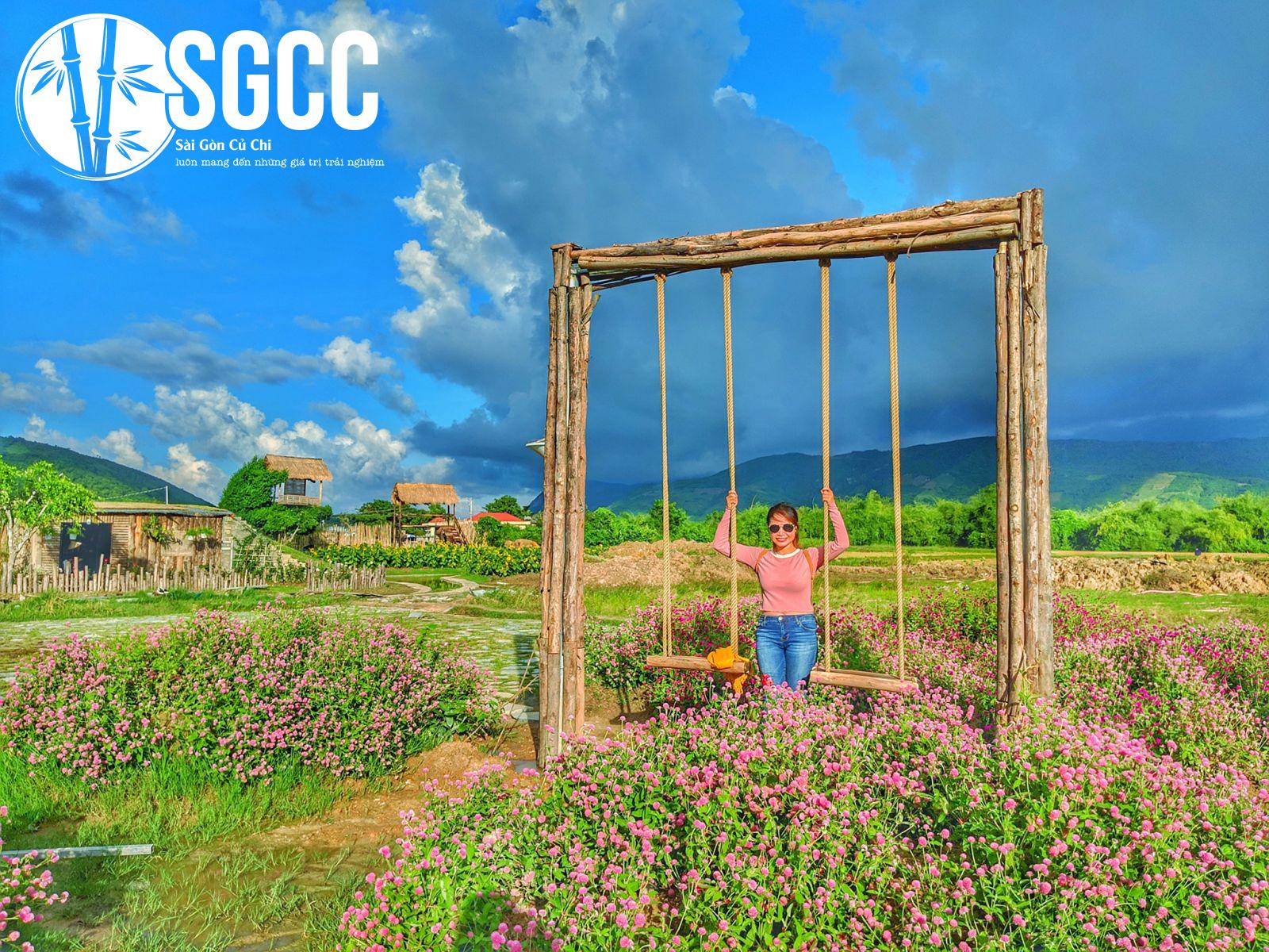 Khám phá khu vườn đẹp như mơ tại Ninh Thuận