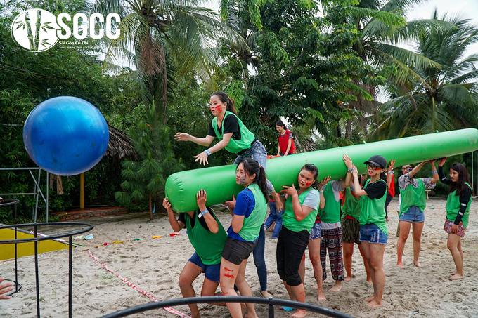 Teambuilding Khu Du Lịch Sinh Thái Tre Việt Đồng Nai