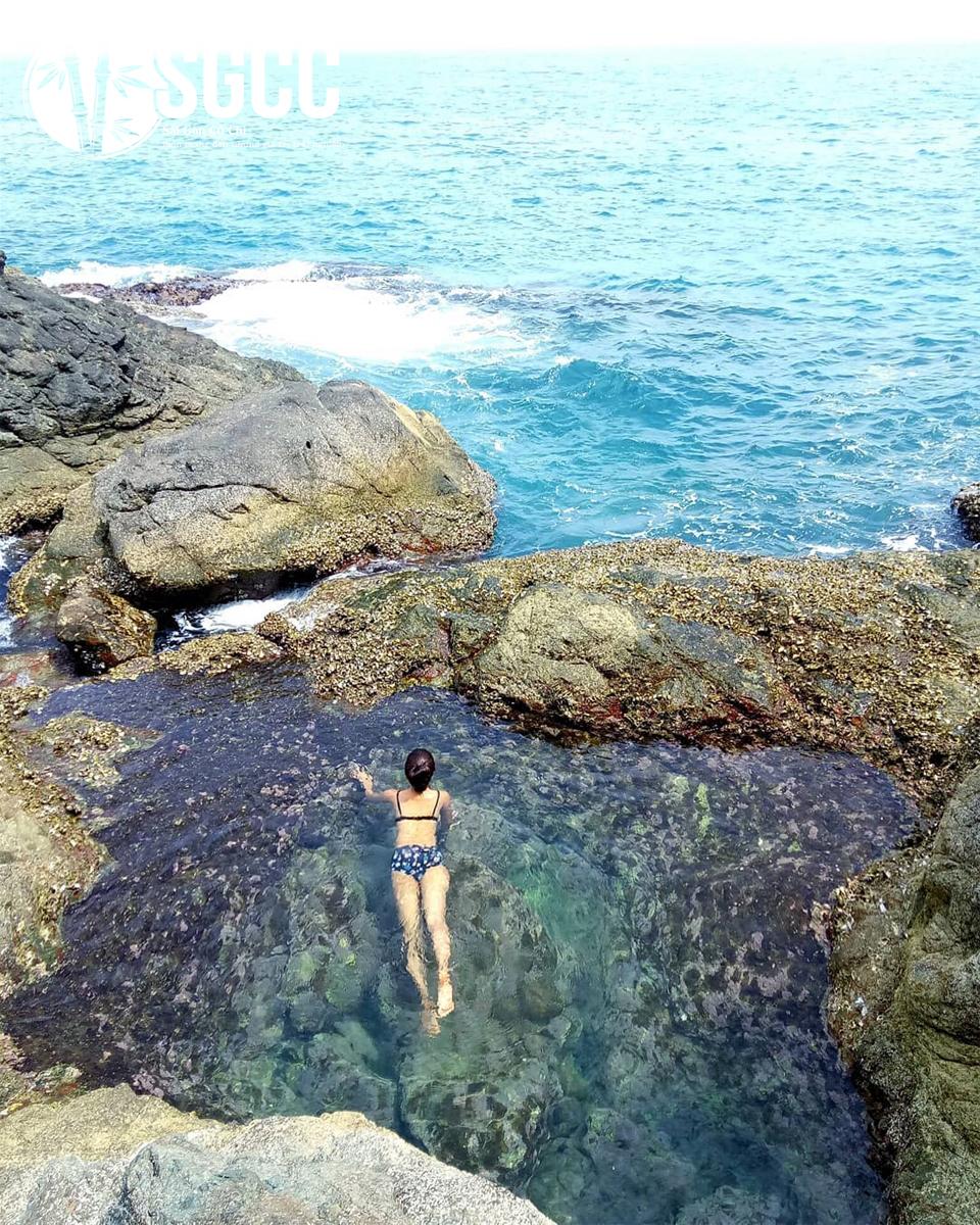 Địa điểm check in cực chất tại bãi biển Mũi Nghê Đà Nẵng