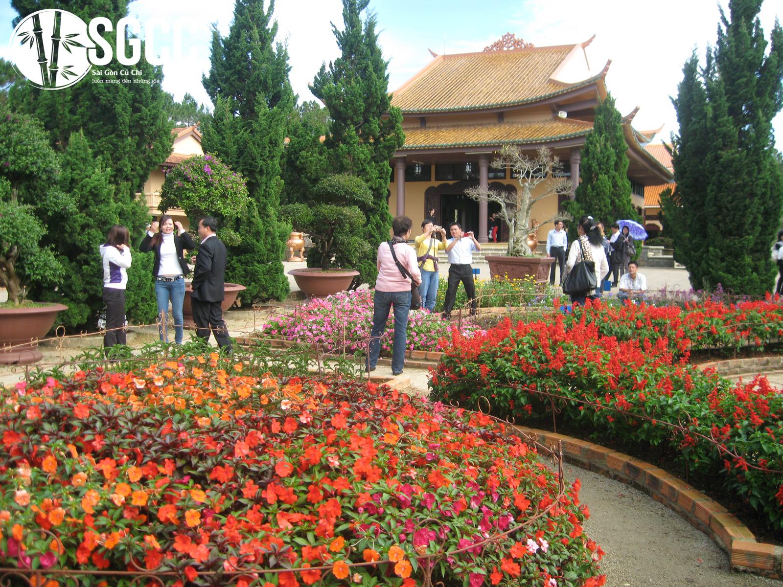 Thiền Viện Trúc Lâm một trong những địa điểm nên thơ tại Đà Lạt