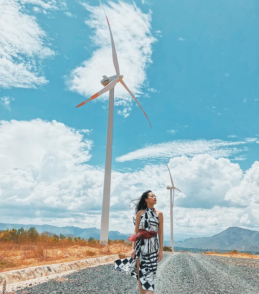 Chiêm ngưỡng 4 cánh đồng quạt gió đẹp ngỡ ngàng trên đất Việt
