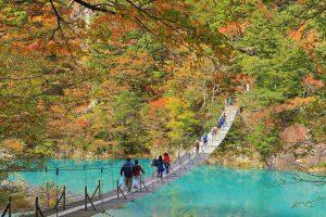 Chinh phục cây cầu treo Yume No Tsuribashi Nhật Bản