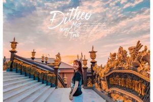 Chùa Kim Tiên ngôi chùa đẹp như phim cổ trang ở An Giang