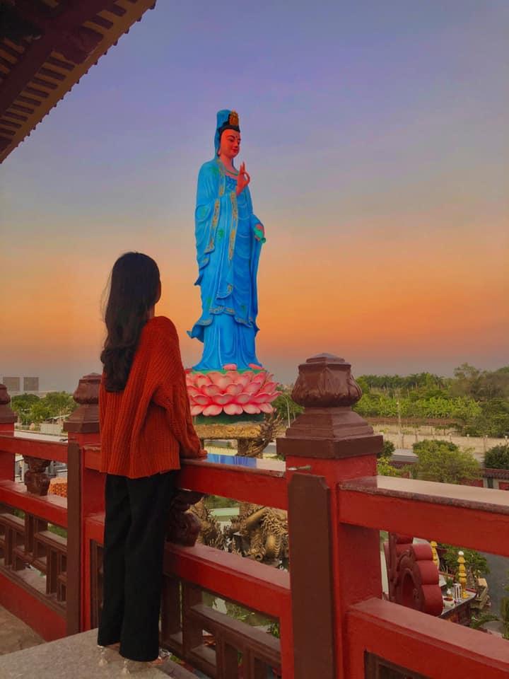 Cầu gì được nấy ở ngôi chùa Phật Ngọc Xá Lợi Vĩnh Long nổi tiếng ở Miền Tây