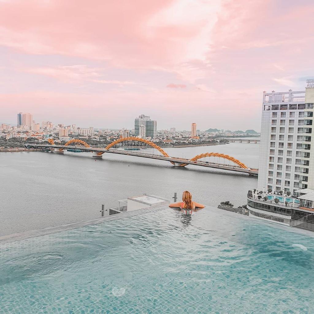 4 hồ bơi vô cực ở Đà Nẵng lên hình sang chảnh