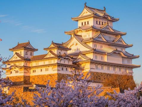 Himeji – Lâu đài Hạc Trắng