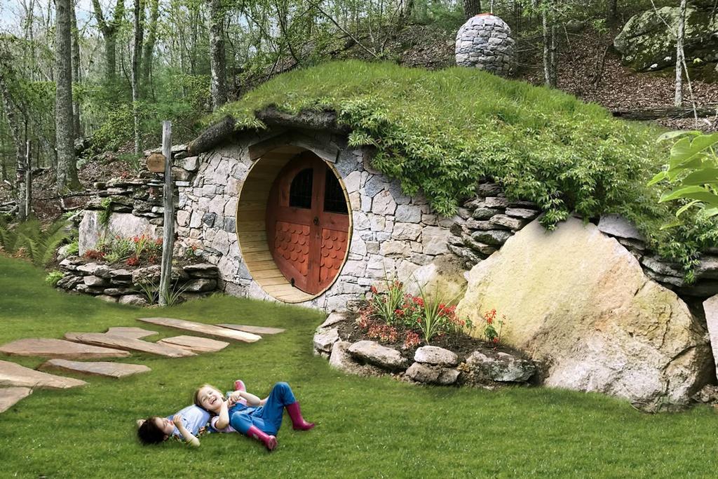 Ngôi nhà người lùn ảo như vườn cổ tích khác xa ảnh mạng