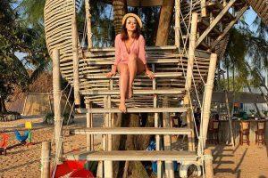Ngôi nhà gỗ lơ lửng trên cây khiến giới trẻ phát cuồng ở Phú Quốc