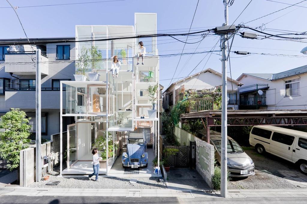10 ngôi nhà sở hữu kiến trúc lạ trên thế giới