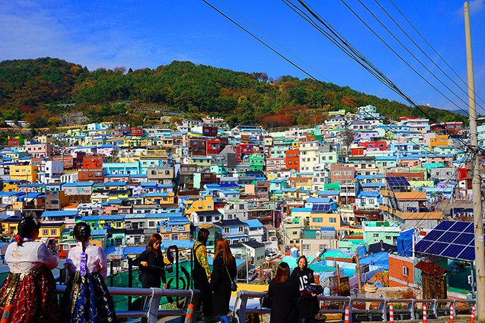 Lovely villages in Korea