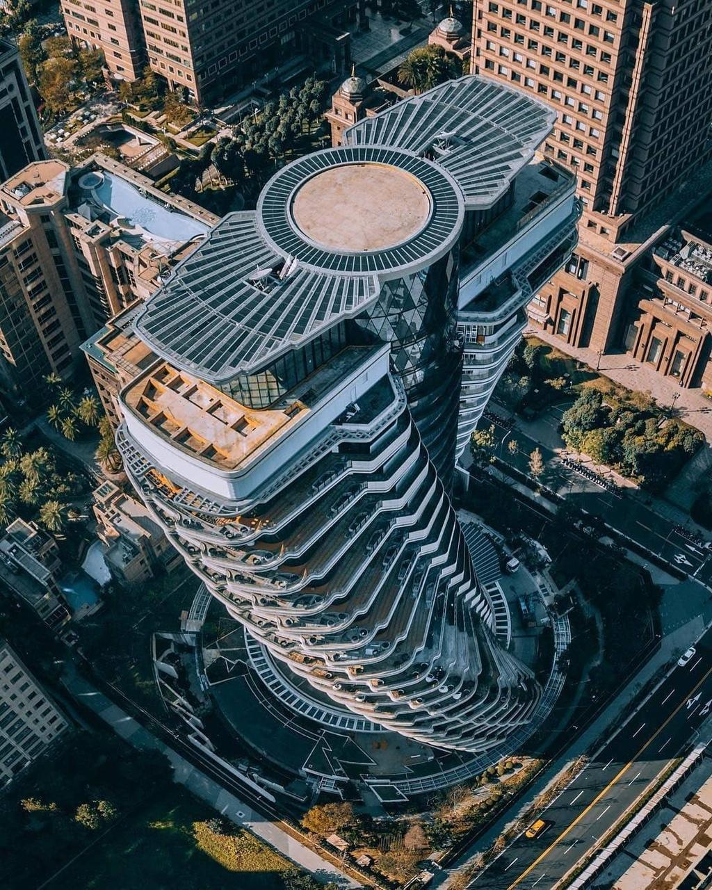 Những tòa nhà có kiến trúc độc đáo ở châu Á