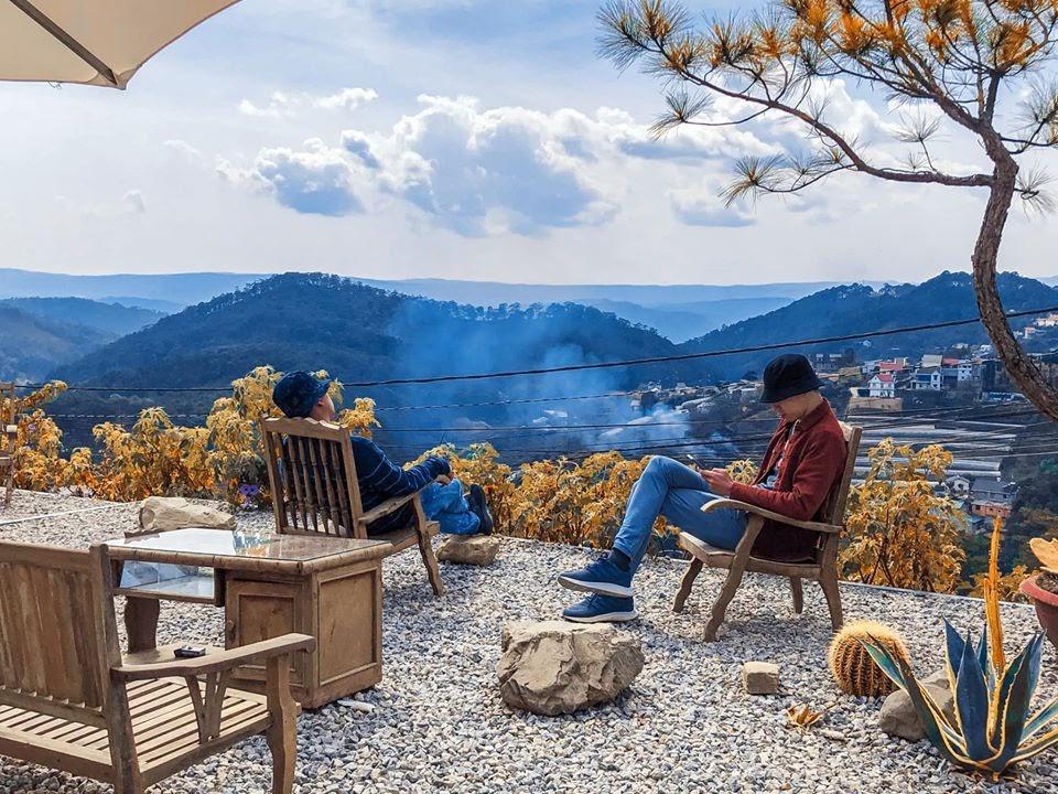 Điểm ngay 5 quán cafe săn mây siêu hot tại Đà Lạt