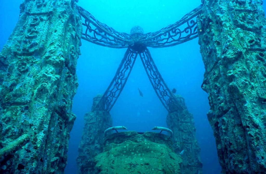 Huyền thoại về 6 thành phố bí ẩn chìm dưới đáy biển