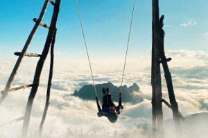 """Định vị tọa độ """"xích đu săn mây"""" cực chill ở Lào Cai"""