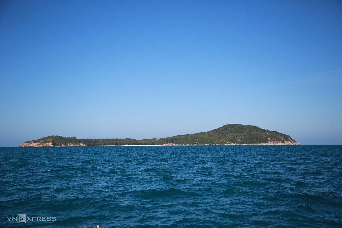 Dã ngoại trên đảo chỉ có hai hộ dân