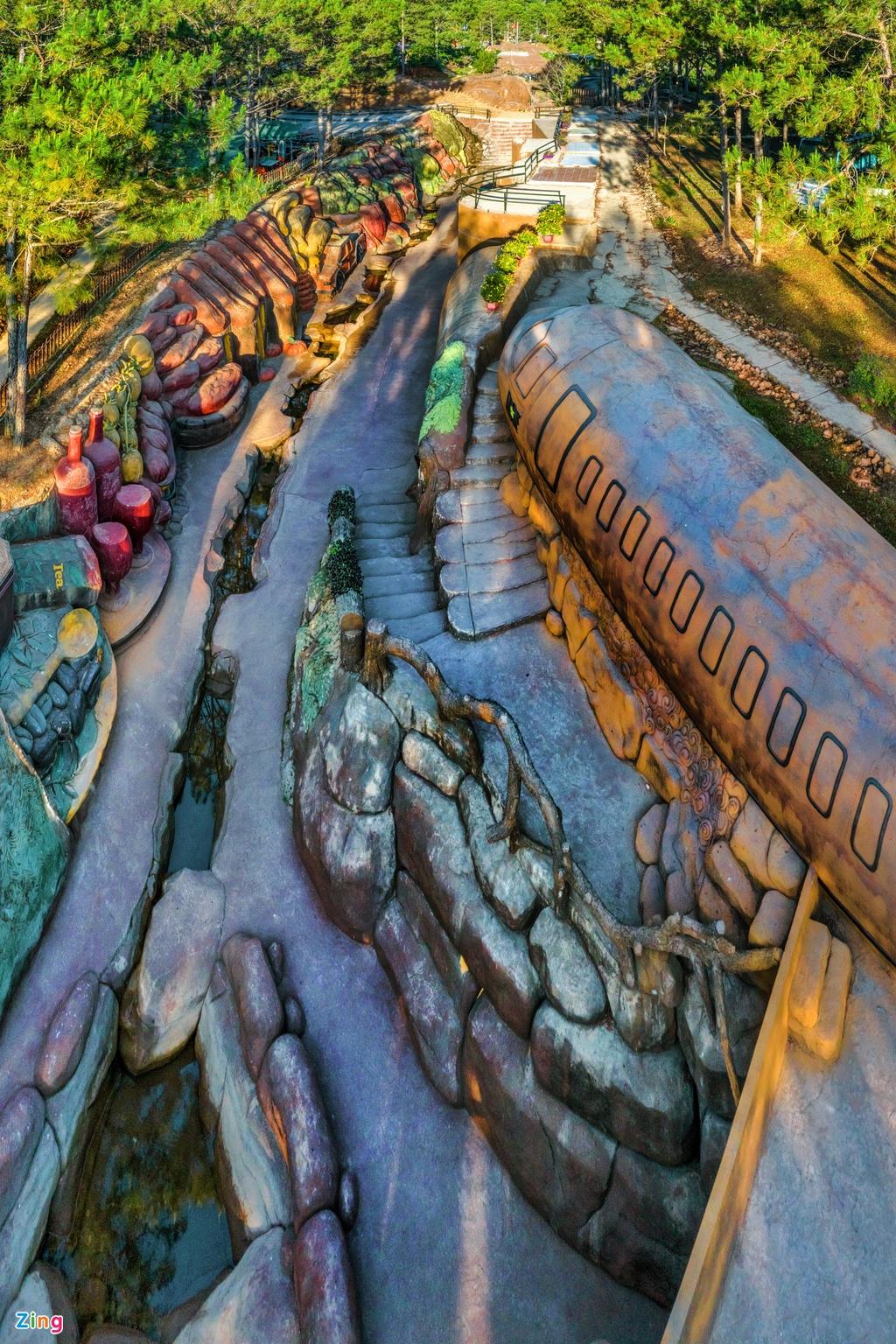 Những điểm check-in nổi tiếng của Đà Lạt nhìn từ trên cao