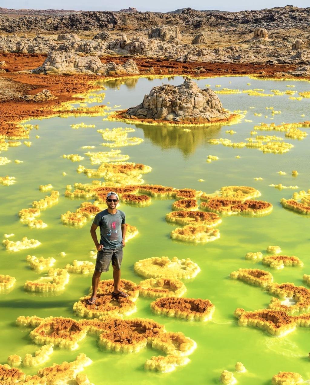 Thung lũng Chết và những nơi nóng nhất thế giới