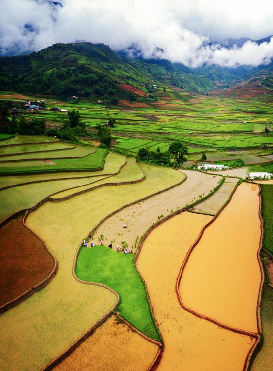 Trải nghiệm du lịch vùng cao vào mùa nước đổ