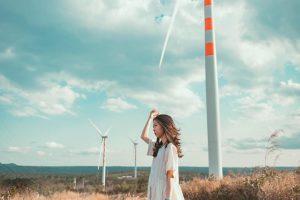 4 cánh đồng quạt gió hút khách check-in