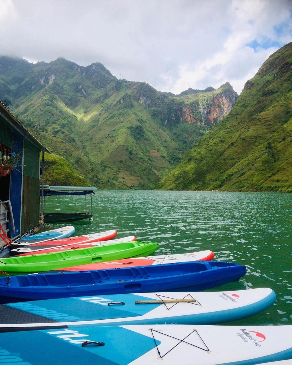 6 điểm chèo kayak view đẹp dọc Việt Nam