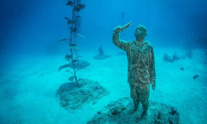 Bảo tàng dưới nước tái tạo rạn san hô lớn nhất thế giới ở Australia