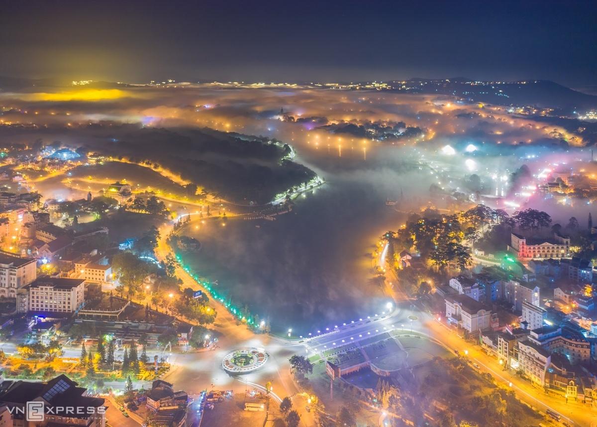 Cảnh đẹp mê hồn của Việt Nam nhìn từ trên cao