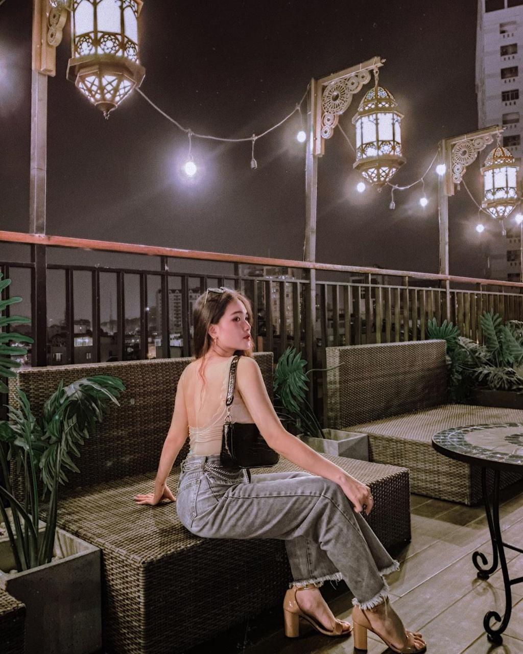 Chill cuối tuần tại những quán cà phê có sân thượng ở TP.HCM