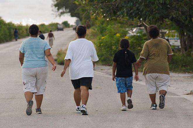 Đất nước có hơn 94% dân số bị béo phì