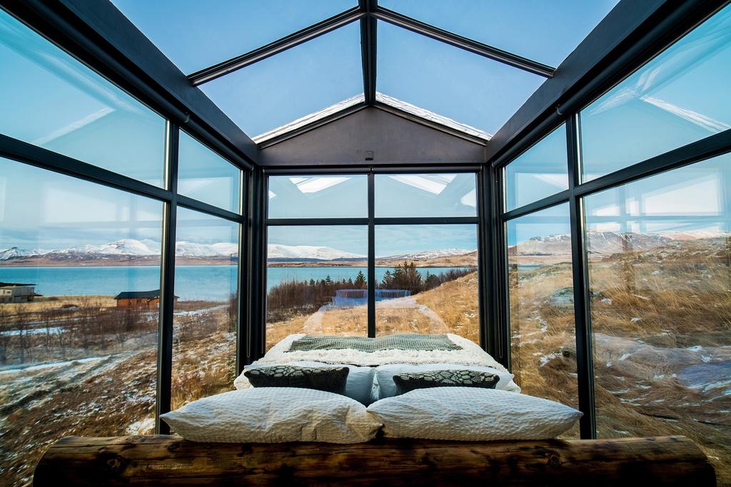 Ngủ dưới bầu trời sao, đại dương ở 7 khách sạn độc đáo thế giới
