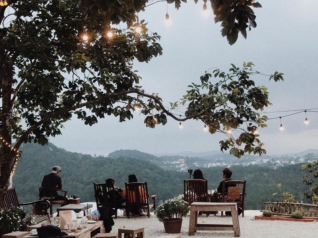 Những quán cà phê ngắm hoàng hôn chill phết ở Đà Lạt