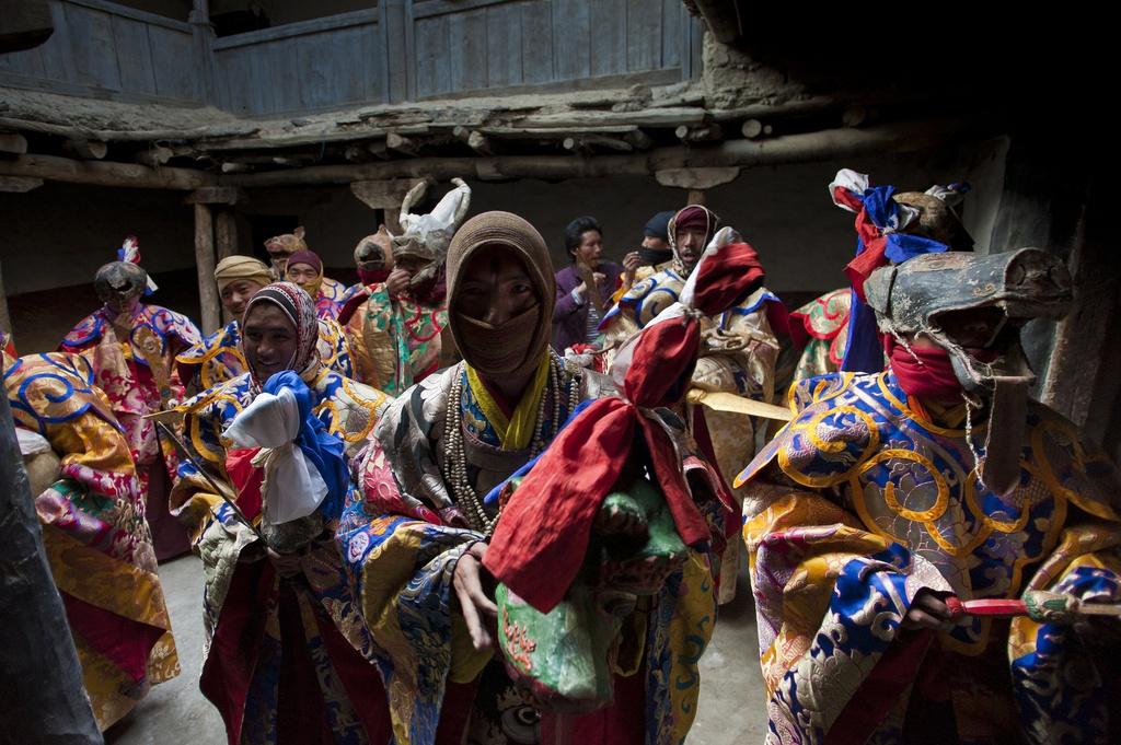 Vương quốc ẩn khuất trên dãy Himalaya, nơi phụ nữ lấy nhiều chồng