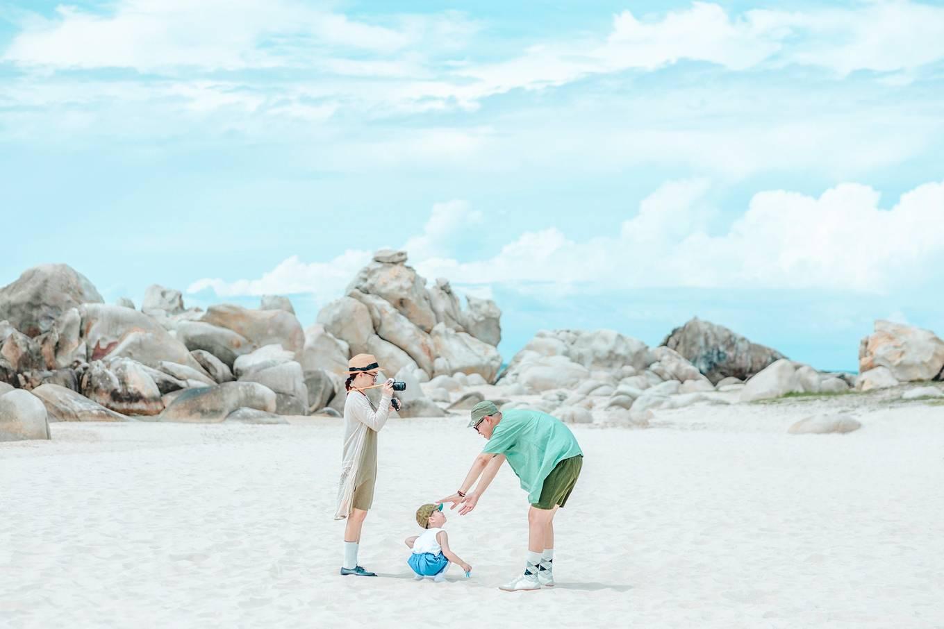 Bình Thuận xanh ngắt qua ống kính gia đình Hà Nội